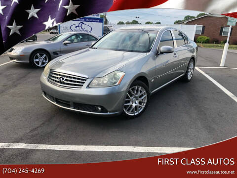 2007 Infiniti M35 for sale at First Class Autos in Maiden NC