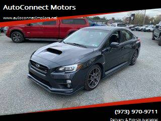 2016 Subaru WRX for sale at AutoConnect Motors in Kenvil NJ
