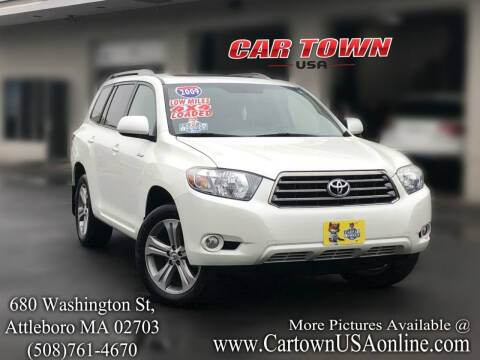2009 Toyota Highlander for sale at Car Town USA in Attleboro MA