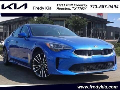 2018 Kia Stinger for sale at FREDY KIA USED CARS in Houston TX