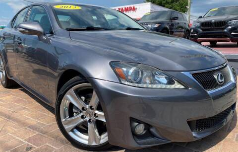 2013 Lexus IS 250 for sale at Cars of Tampa in Tampa FL