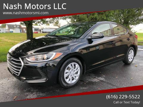 2018 Hyundai Elantra for sale at Nash Motors LLC in Hudsonville MI