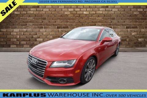 2013 Audi A7 for sale at Karplus Warehouse in Pacoima CA