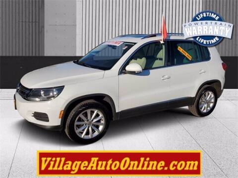 2017 Volkswagen Tiguan for sale at Village Auto in Green Bay WI