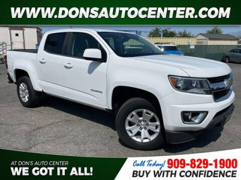 2019 Chevrolet Colorado for sale at Dons Auto Center in Fontana CA