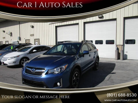 2016 Subaru Crosstrek for sale at Car 1 Auto Sales in Murray UT