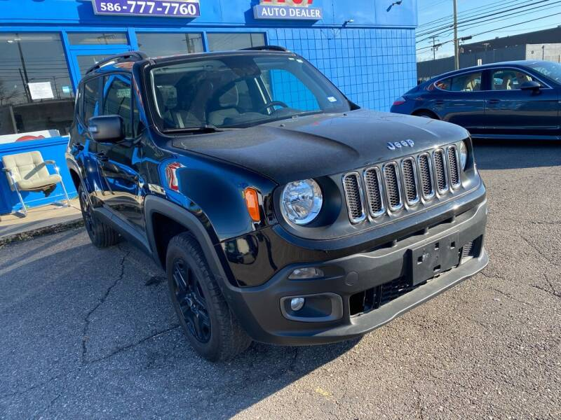 2018 Jeep Renegade for sale at M-97 Auto Dealer in Roseville MI