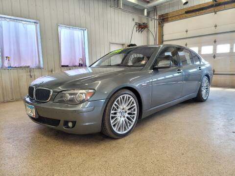 2007 BMW 7 Series for sale at Sand's Auto Sales in Cambridge MN