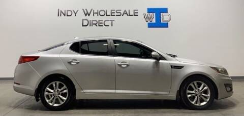 2013 Kia Optima for sale at Indy Wholesale Direct in Carmel IN