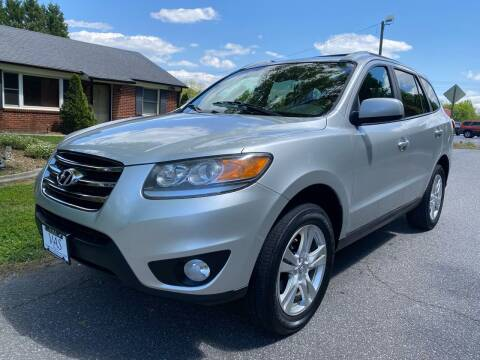 2012 Hyundai Santa Fe for sale at Viewmont Auto Sales in Hickory NC
