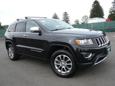 2016 Jeep Grand Cherokee for sale at Shamrock Motors in East Windsor CT