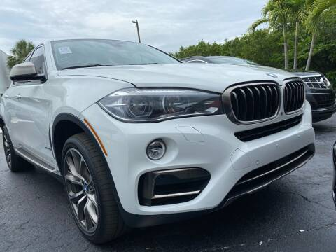 2015 BMW X6 for sale at HIGH PERFORMANCE MOTORS in Hollywood FL