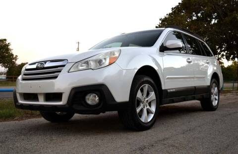 2013 Subaru Outback for sale at BriansPlace in Lipan TX