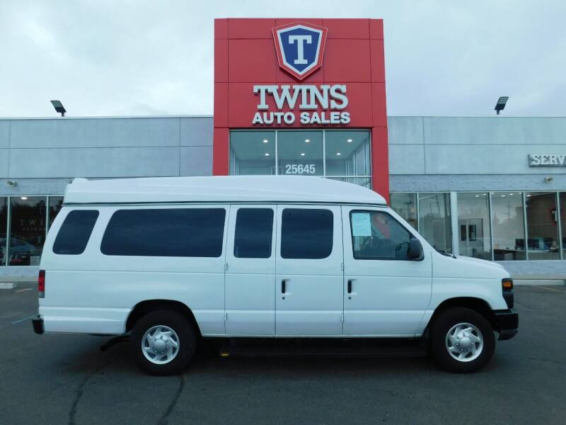 2012 Ford E-Series Wagon for sale at Twins Auto Sales Inc Redford 1 in Redford MI
