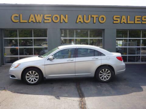 2011 Chrysler 200 for sale at Clawson Auto Sales in Clawson MI