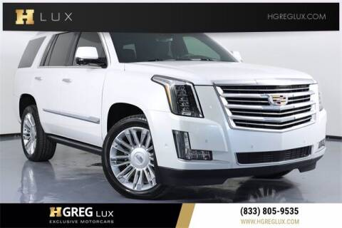 2017 Cadillac Escalade for sale at HGREG LUX EXCLUSIVE MOTORCARS in Pompano Beach FL