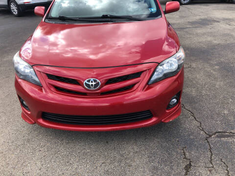 2011 Toyota Corolla for sale at Berwyn S Detweiler Sales & Service in Uniontown PA