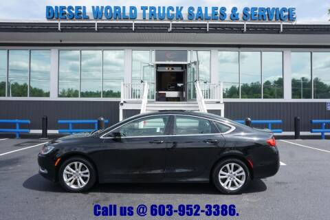 2015 Chrysler 200 for sale at Diesel World Truck Sales in Plaistow NH
