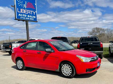 2008 Ford Focus for sale at Liberty Auto Sales in Merrill IA