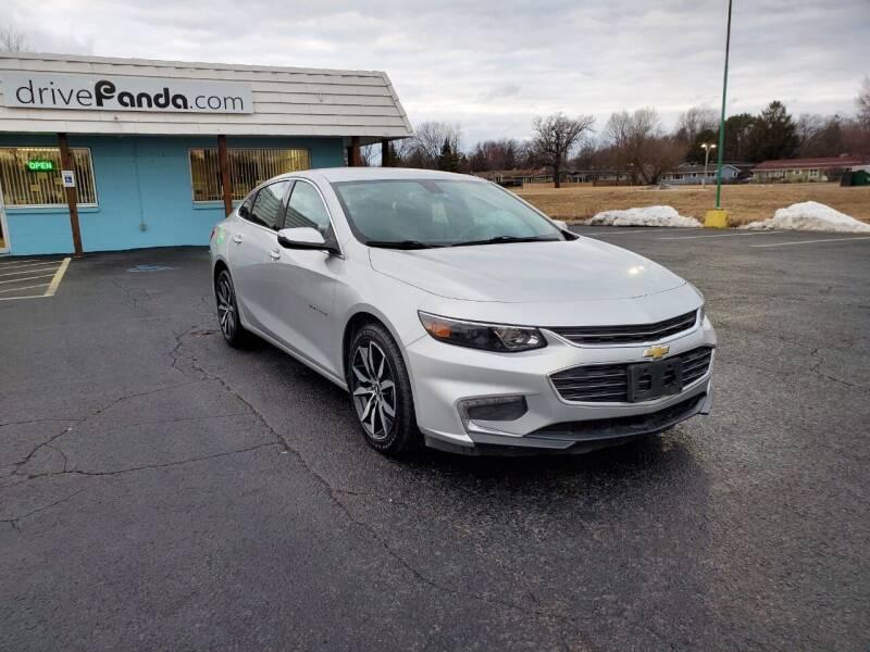 2017 Chevrolet Malibu for sale at DrivePanda.com in Dekalb IL