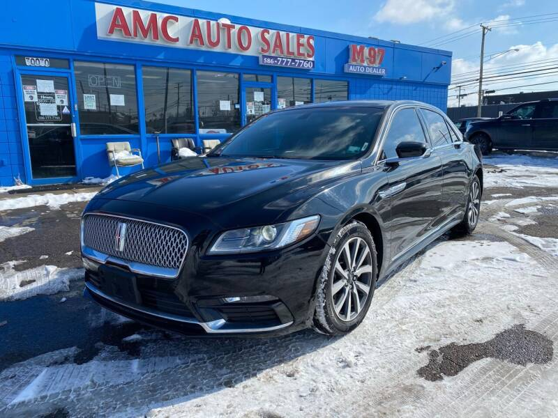 2017 Lincoln Continental for sale at M-97 Auto Dealer in Roseville MI