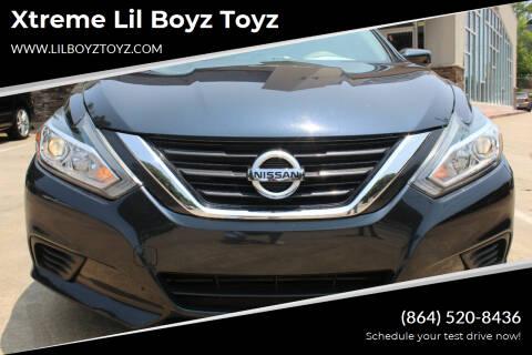 2016 Nissan Altima for sale at Xtreme Lil Boyz Toyz in Greenville SC
