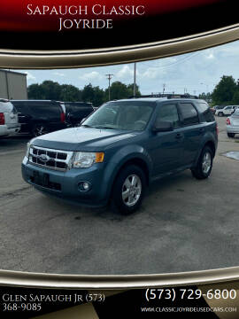 2011 Ford Escape for sale at Sapaugh Classic Joyride in Salem MO