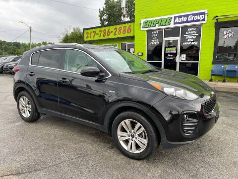 2017 Kia Sportage for sale at Empire Auto Group in Indianapolis IN