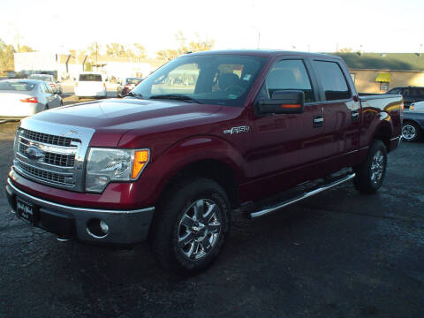 2013 Ford F-150 for sale at World of Wheels Autoplex in Hays KS