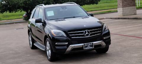 2014 Mercedes-Benz M-Class for sale at America's Auto Financial in Houston TX