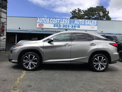 2018 Lexus RX 350 for sale at Autos Cost Less LLC in Lakewood WA