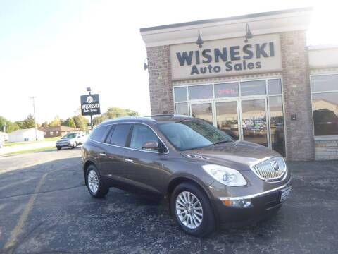 2009 Buick Enclave for sale at Wisneski Auto Sales, Inc. in Green Bay WI