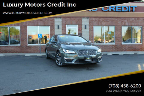 2017 Lincoln MKZ Hybrid for sale at Luxury Motors Credit Inc in Bridgeview IL