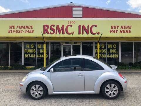 2008 Volkswagen Beetle for sale at Ron Self Motor Company in Fort Worth TX