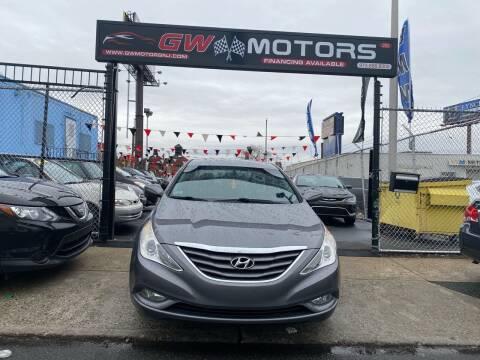 2013 Hyundai Sonata for sale at GW MOTORS in Newark NJ