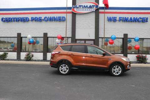 2017 Ford Escape for sale at Ultimate Auto Deals DBA Hernandez Auto Connection in Fort Wayne IN