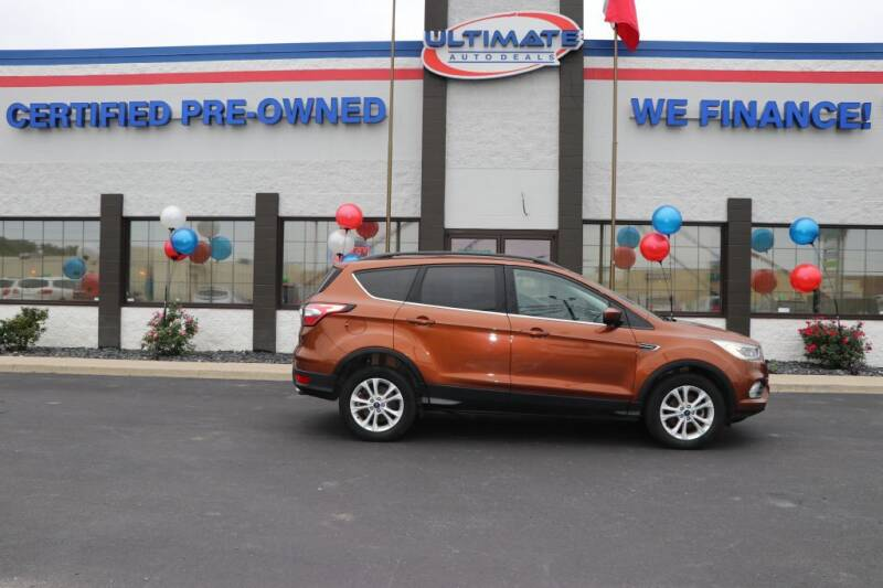 2017 Ford Escape for sale at Ultimate Auto Deals in Fort Wayne IN