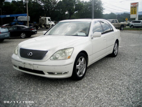 2004 Lexus LS 430 for sale at RAY'S AUTO SALES INC in Jacksboro TN