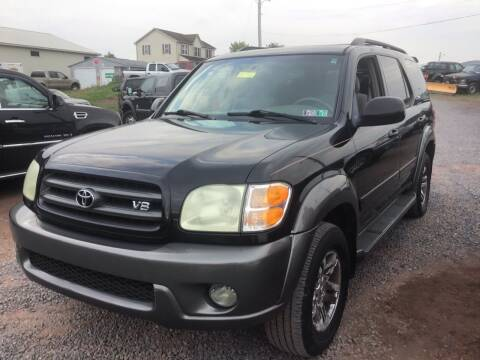 2004 Toyota Sequoia for sale at Troys Auto Sales in Dornsife PA