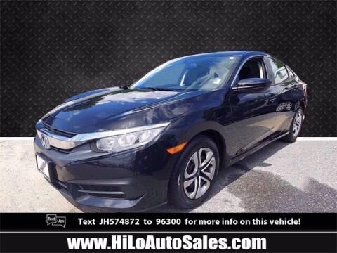 2018 Honda Civic for sale at Hi-Lo Auto Sales in Frederick MD