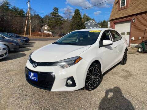 2015 Toyota Corolla for sale at Hornes Auto Sales LLC in Epping NH