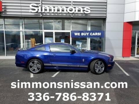 2014 Ford Mustang for sale at SIMMONS NISSAN INC in Mount Airy NC