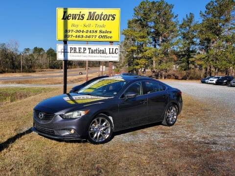 2014 Mazda MAZDA6 for sale at Lewis Motors LLC in Deridder LA