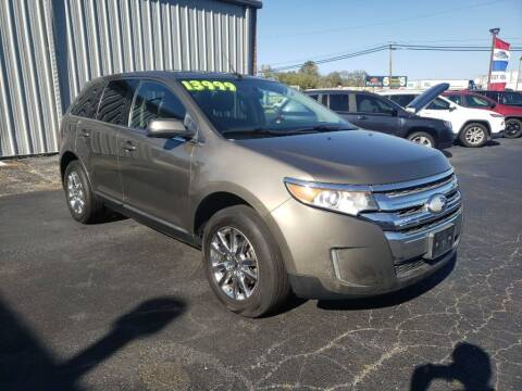 2013 Ford Edge for sale at Used Car Factory Sales & Service Troy in Troy OH