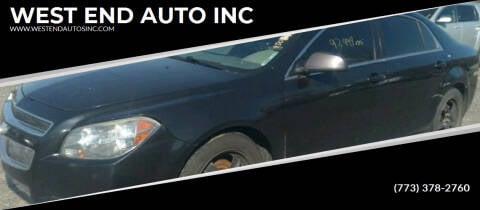 2011 Chevrolet Malibu for sale at WEST END AUTO INC in Chicago IL