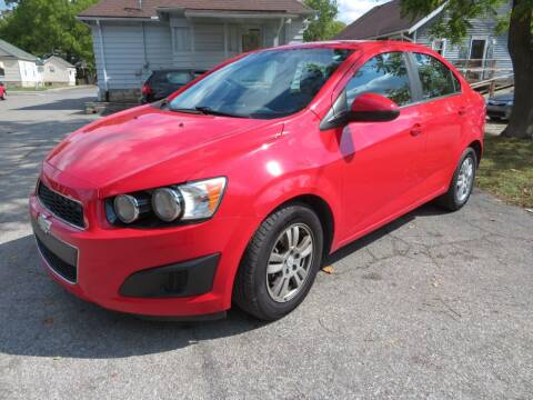 2014 Chevrolet Sonic for sale at Wheels Auto Sales in Bloomington IN