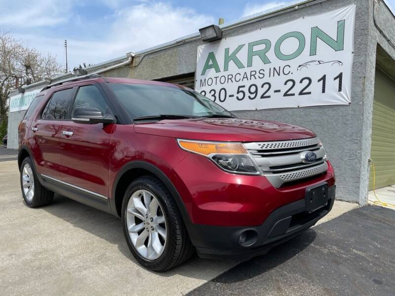 2014 Ford Explorer for sale at Akron Motorcars Inc. in Akron OH
