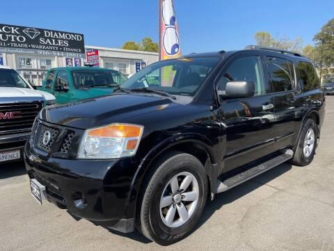 2013 Nissan Armada for sale at Black Diamond Auto Sales Inc. in Rancho Cordova CA