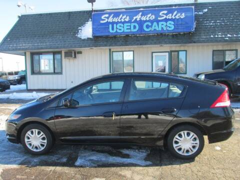2010 Honda Insight for sale at SHULTS AUTO SALES INC. in Crystal Lake IL