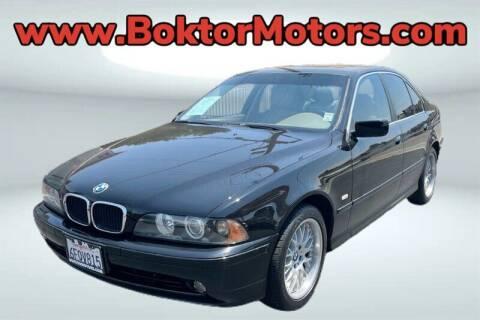 2003 BMW 5 Series for sale at Boktor Motors in North Hollywood CA